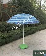 Зонт пляжный складной и большой BU-020 (d-200см)