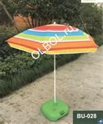 Зонт пляжный складной BU-028 (d-140см)