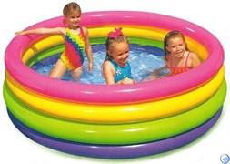 Бассейн детский с цветными кольцами Intex 56441