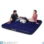 OLBOL.ru | Матрас надувной двуспальный (без насоса) Интекс (Intex) 68755