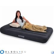 OLBOL.ru | Матрас надувной полутораспальный со встроенным насосом 220В Интекс (Intex) 66780