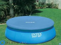 Тент для бассейна с верхним надувным кольцом (244 см) Intex 58939