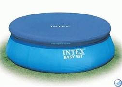 Тент для бассейна с верхним надувным кольцом (366см) Intex 28022