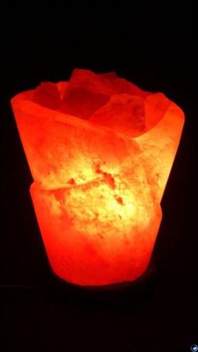 Соляной светильник STAYGOLD «Роза» 3 кг с диммером