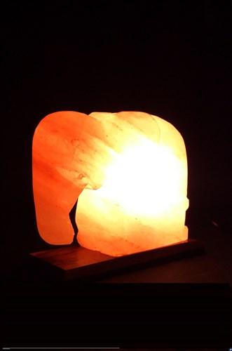 Соляной светильник STAY GOLD «Слон» 4 кг с диммером