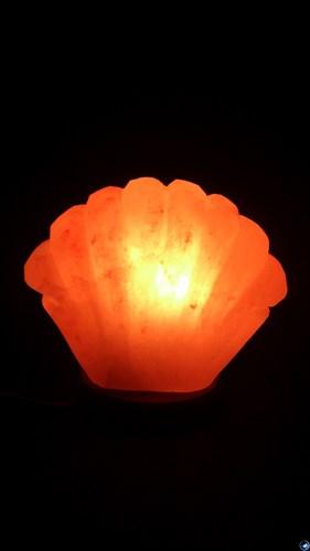 Соляной светильник STAY GOLD «Ракушка»  2,5 кг с диммером