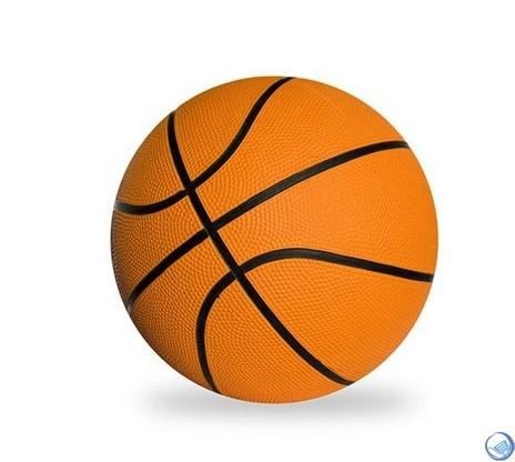 Мяч PU баскетбол 10см TX31500-B