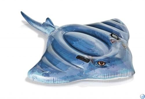 Надувная игрушка для плавания Скат Intex 57550 (188х145 см)