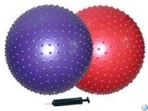 мяч гимнастический массажный d65см(с насосом)GB02