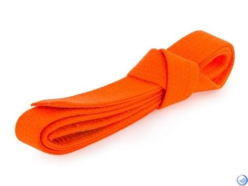 Пояс для кимоно 2,6м (оранжевый)