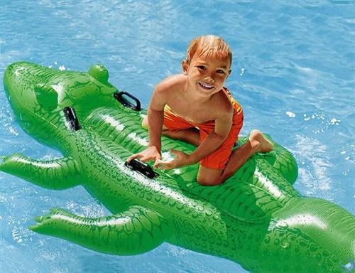Надувной Крокодил (от 3 лет) Intex 58562