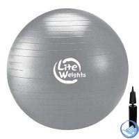 Мяч гимнастический Lite Weights d-85см (с насосом) 1868LW