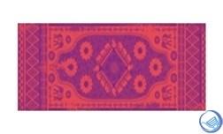 Коврик для йоги и фитнеса 183*61*0,3см 5430LW, оранж./фиолетовый