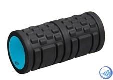 Ролик массажный 33*14см 6500LW, черный/голубой
