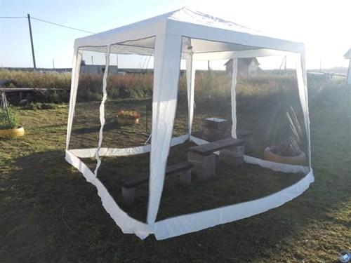 Тент-шатер с москитной сеткой GK-001С (3х3/2,4х2,4м)