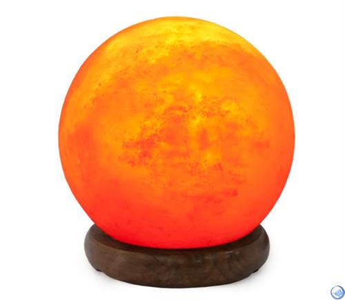 Соляной светильник STAY GOLD «Сфера» 3 кг с диммером