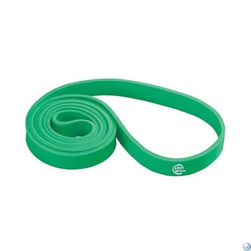 Петля тренировочная многофункциональная 208*2,1*0,45см 0825LW (25кг, зеленая)