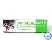 Лыжная мазь светло-зеленая t°С (-9 -25°C), масса 40г