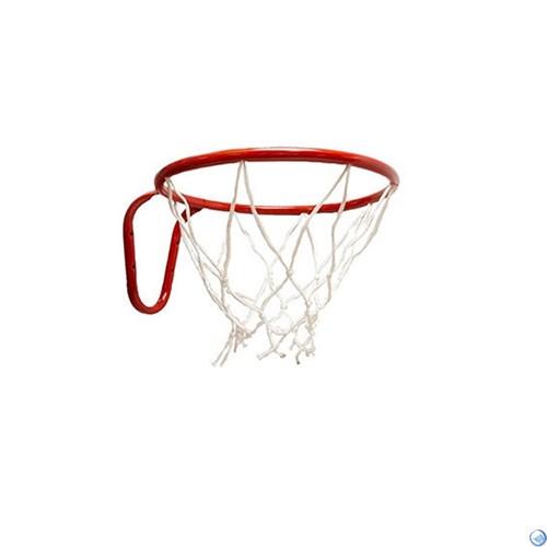 Кольцо баскетбольное с сеткой №3. D кольца - 295мм. - фото 31076