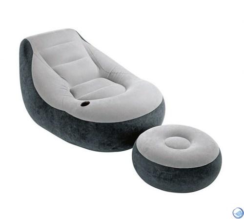 Кресло надувное с пуфиком Intex 68564