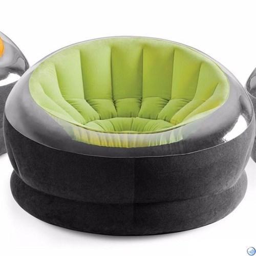 Надувное кресло Intex 68582 (Салатовое)