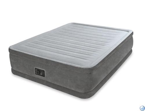 Кровать надувная односпальная со встроенным насосом 220В Intex 67766