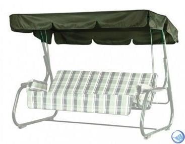 Универсальный тент для качелей (Касабланка, Варадеро, Торнадо, Капри) Подходит на все модели с длиной сиденья не более 180 см.