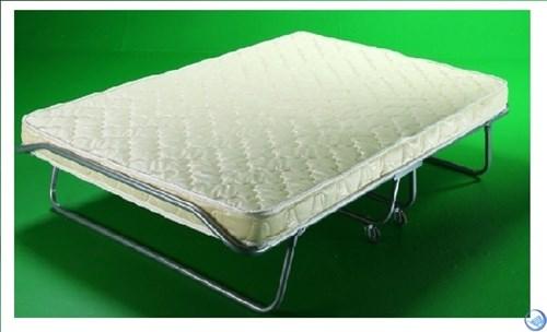 Раскладушка Бенилюкс двуспальная с матрасом (200х130х40см)