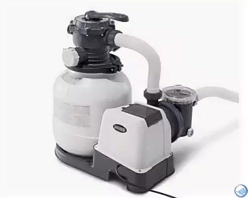 Песочный фильтр-насос Intex 28648 / 26648 для бассейна (8000л/ч)  - фото 33185