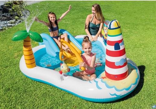 Игровой центр-бассейн Веселая Рыбалка Intex 57162 (218х188х99)