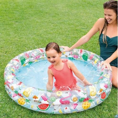 Детский бассейн Круги Intex 59421 (122х25 см)