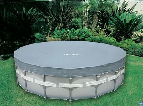 Тент для каркасного бассейна (488 см) Intex 28040 - фото 4442