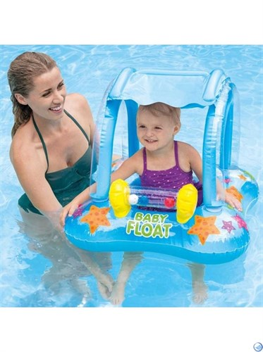 Надувные водные ходунки Baby Float  Intex 56581 (81х66см) - фото 44585