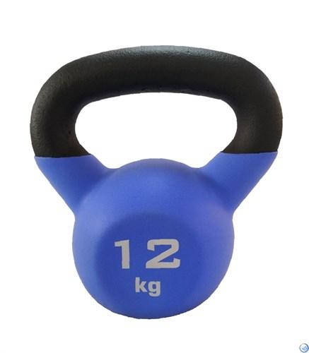 Гиря чугунная с виниловым покрытием SportElite 12 кг