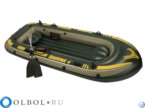 OLBOL.ru | Лодка надувная 4-х местная Seahawk 4 Set Интекс (Intex)68351