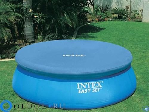 Тент для бассейна с верхним надувным кольцом (305 см) Intex 58938