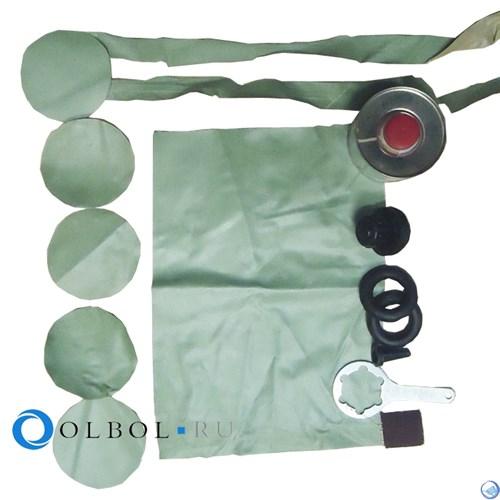 Ремкомплект для резиновых и ПВХ лодок (комплект) №2