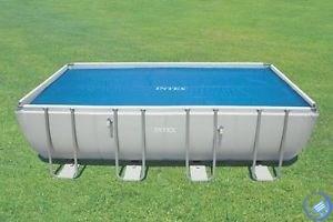 Тент солнечный прозрачный для прямоугольного бассейна 732х366см Intex 29027