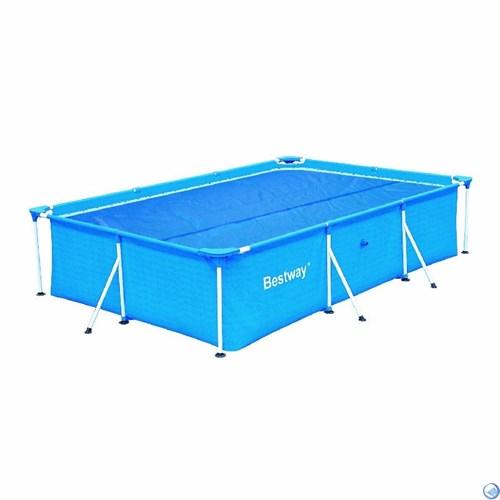 Тент солнечный для прямоугольных бассейнов 400х211х81см BestWay 58244