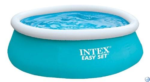 Бассейн с надувным верхним кольцом 183х51см Intex 28101