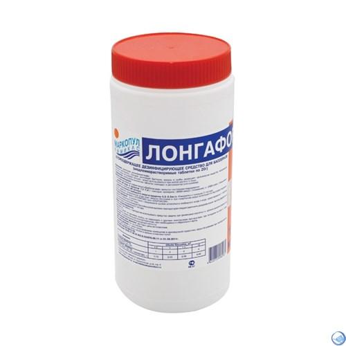 """Лонгафор 200 гр. таблетки (Длительная """"хлорная"""" дезинфекция) 0012"""