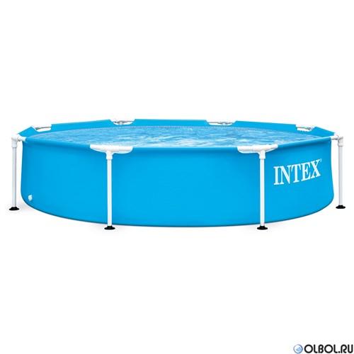 Каркасный бассейн Metal Frame Intex 28205 (244х51см, 1828л)