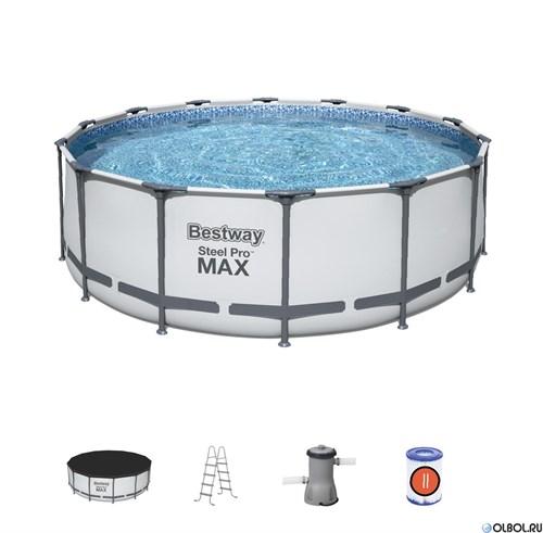 Бассейн каркасный Steel Pro MAX BestWay 56438