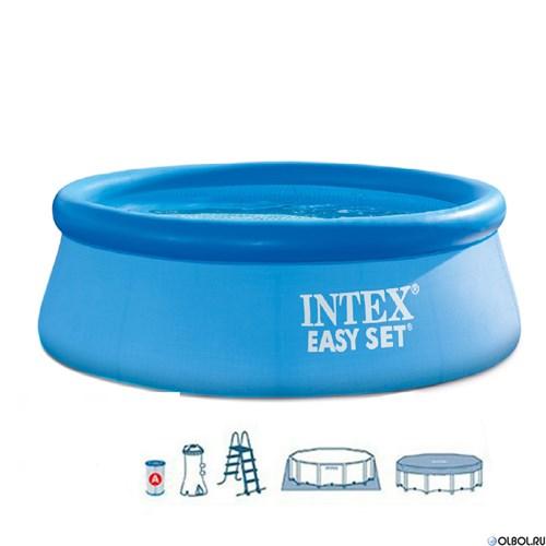 Надувной бассейн для дачи Intex 26168