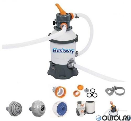 Песочный фильтр насос для бассейна (2000 л/ч) Bestway 58515
