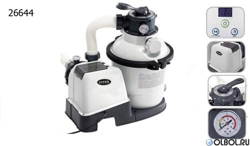 Песочный фильтр насос для бассейна (6000л/ч) Intex 26646