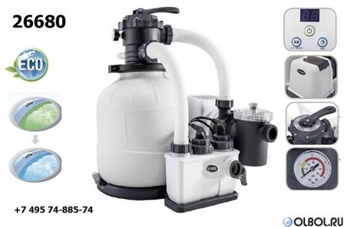 Хлоргенератор с фильтрующим насосом Intex 26680