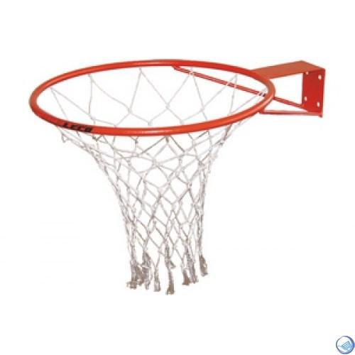 Кольцо баскетбольное с сеткой №7. D кольца - 450мм.