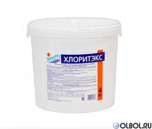 Хлоритэкс 1 кг. (гранулы) быстрая хлорная дезинфекция воды