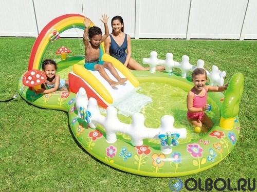 Игровой центр-бассейн Мой сад Intex 57154  (290х180х104) - фото 66800